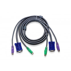 ATEN 1.2M PS/2 Slim KVM...