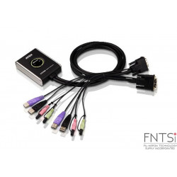 ATEN 2-Port USB DVI/Audio...