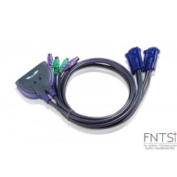 2-Port PS/2 VGA Cable KVM...