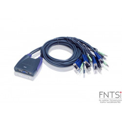4-Port USB VGA/Audio Cable...