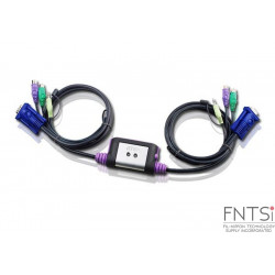 2-Port PS/2 VGA/Audio Cable...