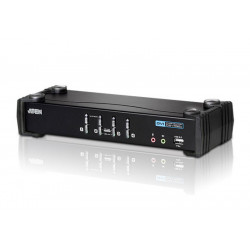 ATEN 4-Port USB DVI/Audio...