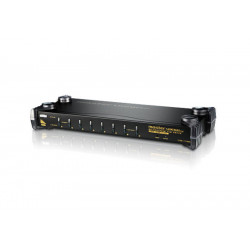 8-Port PS/2-USB VGA/Audio...