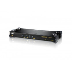 4-Port PS/2 VGA KVM Switch...