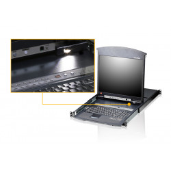 ATEN 16-Port Slideaway™ LCD KVM Switch (CL5716)