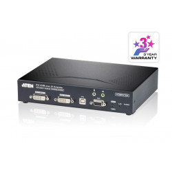 USB DVI-I Dual Display KVM...